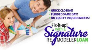 Signature Remodeler Loan at CPCU
