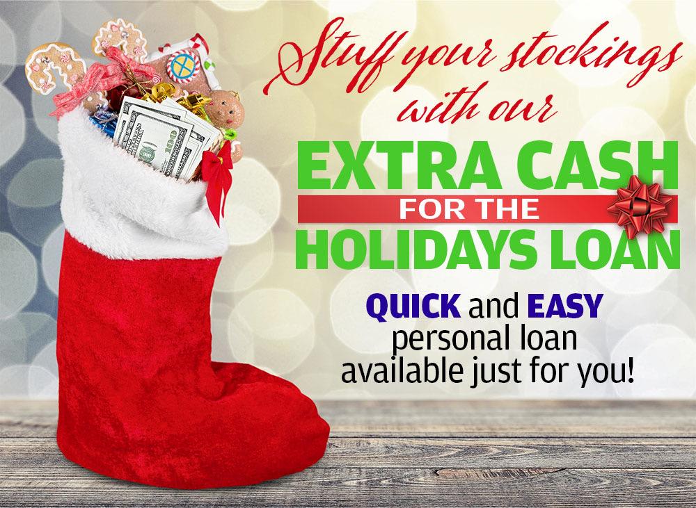 Stuffed Stocking Holiday Loan
