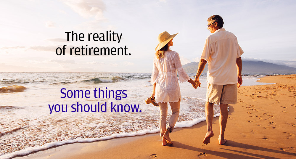 Reality of retirement