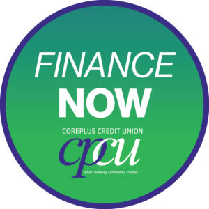 Finance Now Button for CorePlus Credit Union